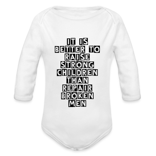 - Organic Long Sleeve Baby Bodysuit