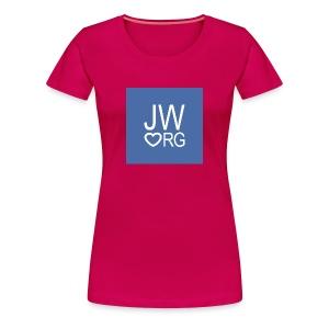 JW ORG Women's Premium T-Shirt - Women's Premium T-Shirt