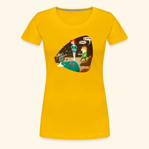 Fail! - Women's Premium T-Shirt