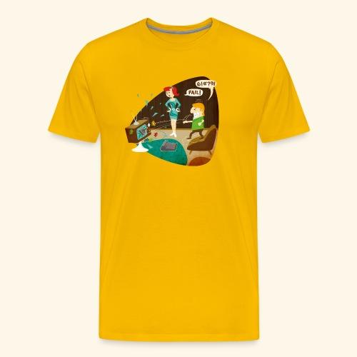 Fail! - Men's Premium T-Shirt