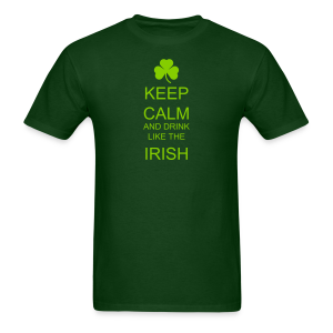 Keep Calm And Drink Like The Irish Men's T-Shirt  - Men's T-Shirt