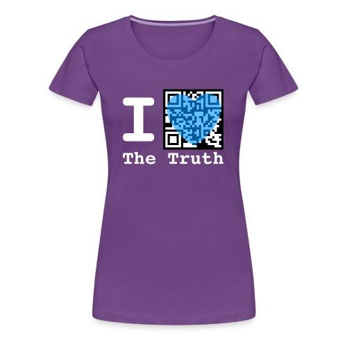 I Love The Truth JW ORG QR Code Men's T-Shirt - Women's Premium T-Shirt