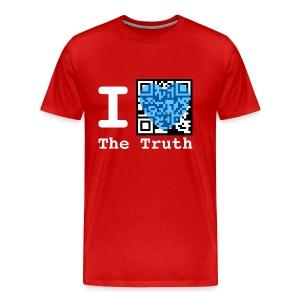 I Love The Truth JW ORG QR Code Men's T-Shirt - Men's Premium T-Shirt