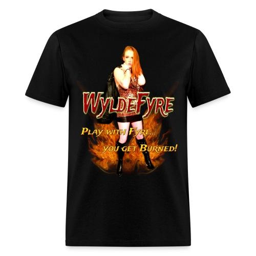 Wyldefyre Image (Mens Shirt) - Men's T-Shirt