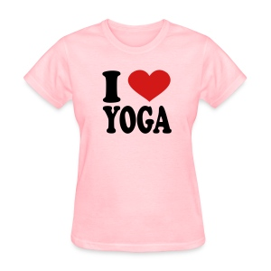 I Love Yoga - Women's T-Shirt