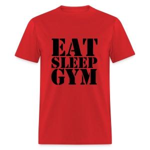 Eat Sleep Gym - Men's T-Shirt
