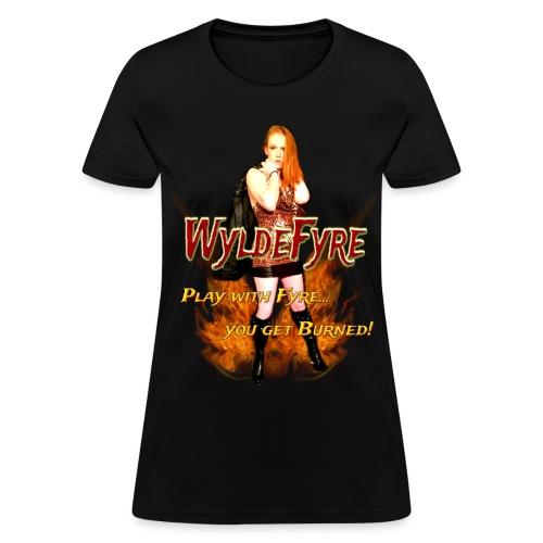 Wyldefyre (Ladies T-Shirt) - Women's T-Shirt