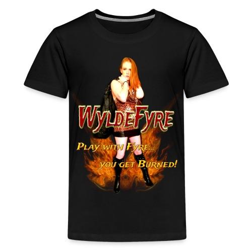 Wyldefyre (Kids) - Kids' Premium T-Shirt