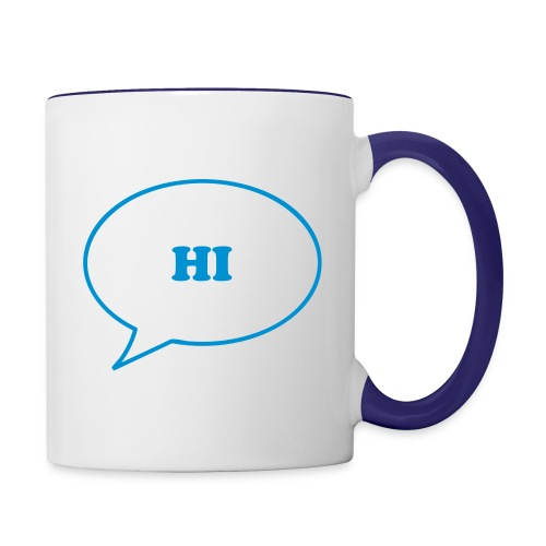 HI Friend Mug - Contrast Coffee Mug