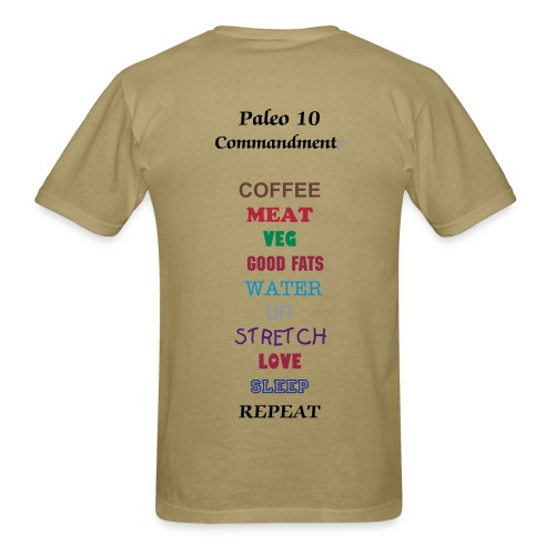 Paleo 10 T - Men's T-Shirt