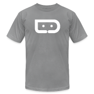 T-Shirts ~ Men's T-Shirt by American Apparel ~ DROID LIFE LOGO (American Apparel Cotton)