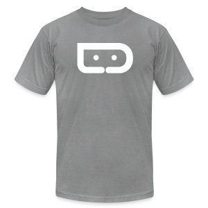 DROID LIFE LOGO (American Apparel Cotton) - Men's T-Shirt by American Apparel