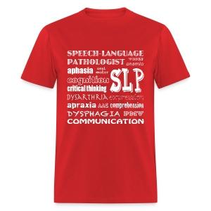 Medical SLP Word Art - Men's T-Shirt