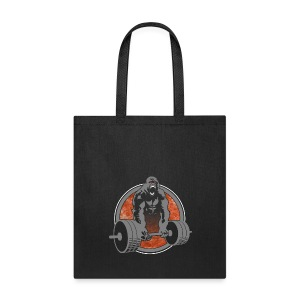Weightlifting Fitness Crossfit Gorilla - Tote Bag