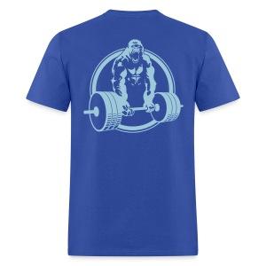 Weightlifting Fitness Crossfit Gorilla - Men's T-Shirt