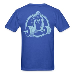 Weightlifting Fitness Crossfit Gorilla - Men's T-Shirt
