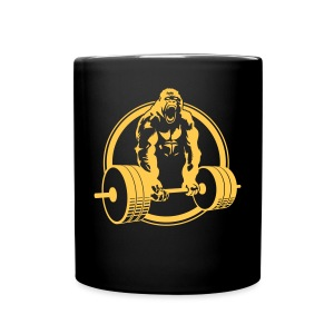 Weightlifting Fitness Crossfit Gorilla - Full Color Mug