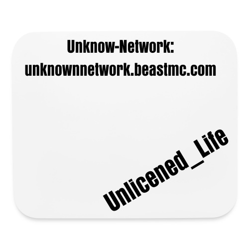 Unknow-Networks Mouse Pad - Mouse pad Horizontal