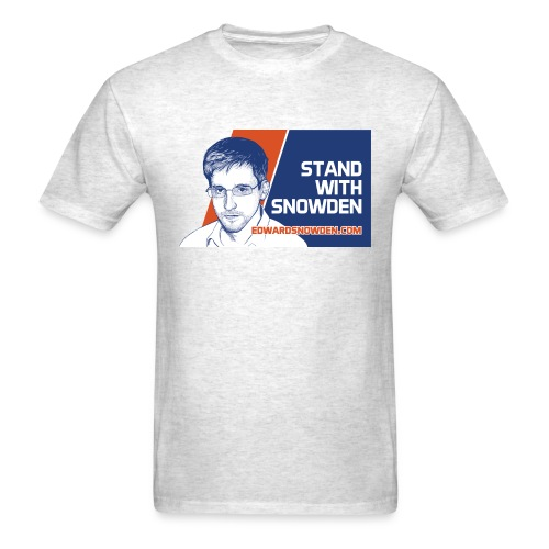 Stand with Snowden - Men's T-Shirt