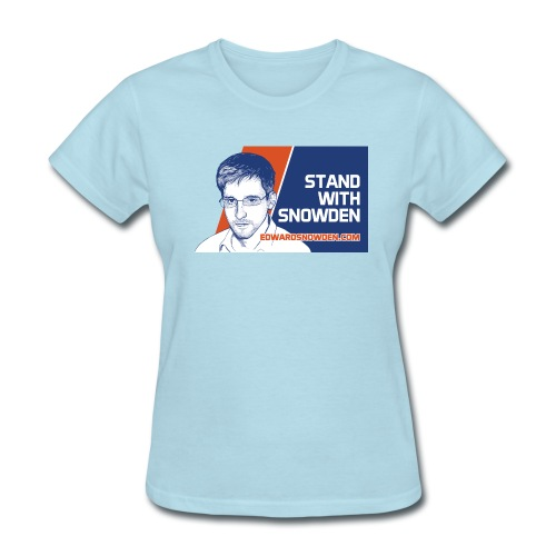 Stand with Snowden - Women's T-Shirt