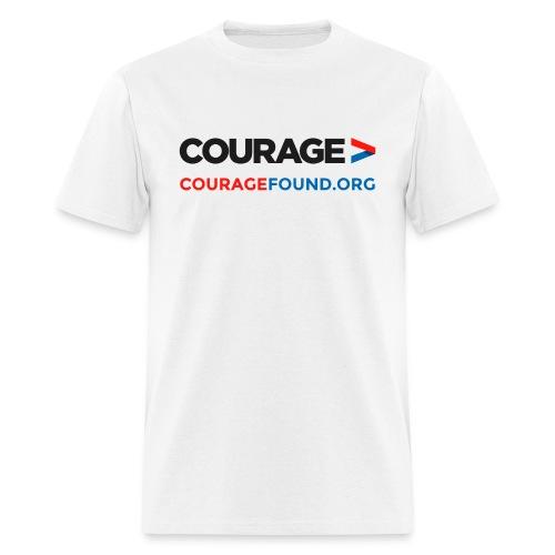 Courage CourageFound.org  - Men's T-Shirt