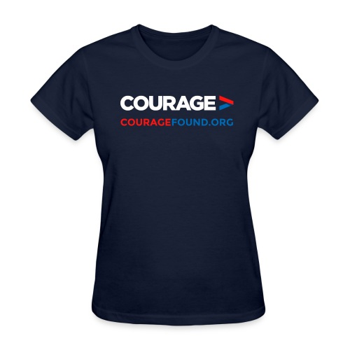 Courage CourageFound.org  - Women's T-Shirt