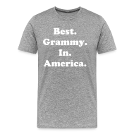 T-Shirts ~ Men's Premium T-Shirt ~ Best Grammy in America