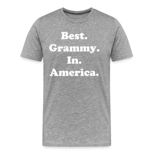 Best Grammy in America - Men's Premium T-Shirt