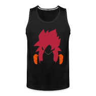 Tank Tops ~ Men's Premium Tank Top ~ SSJ4 G