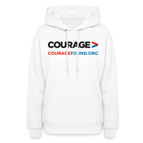 Courage Found Hoodie - Women's Hoodie