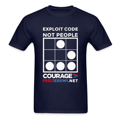 Explot Code Not People - Men's T-Shirt