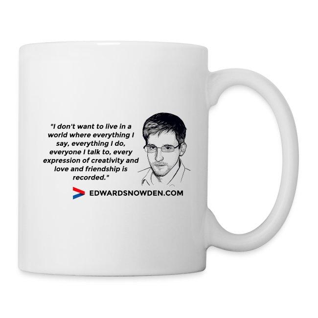 Snowden Mug