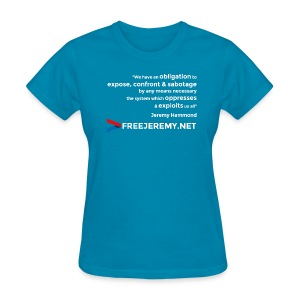 Jeremy Hammond Quote - Women's T-Shirt