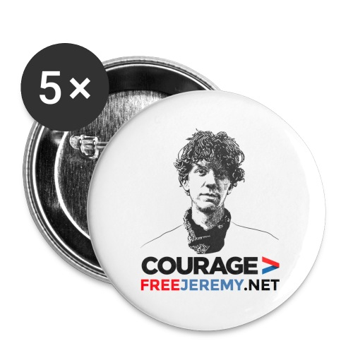 Jeremy Hammond Buttons - Buttons large 2.2'' (5-pack)
