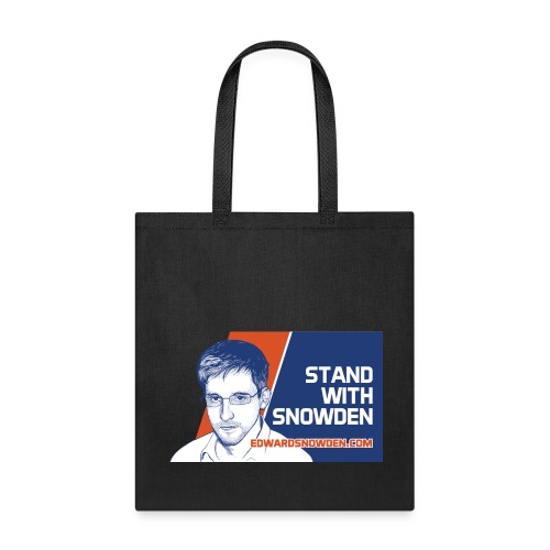 Stand with Snowden Bag - Tote Bag