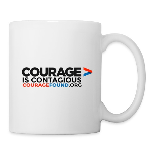Courage is Contagious Mug - Coffee/Tea Mug