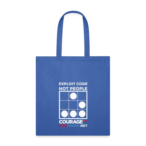 Exploit Code Not People Bag - Tote Bag