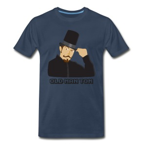 Old Man Tom Stay Classy Shirt - Men's Premium T-Shirt