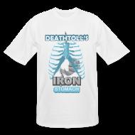 T-Shirts ~ Men's Tall T-Shirt ~ Deathtoll's Iron Stomach Tall Shirt