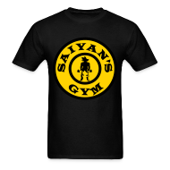 T-Shirts ~ Men's T-Shirt ~ Saiyan's Gym