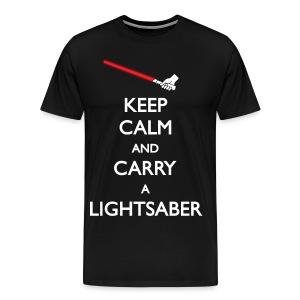 Keep Calm - Dark Side - Men's Premium T-Shirt