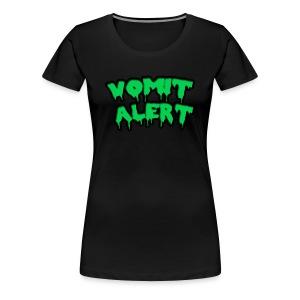 Vomit Alert Shirt (Women's) - Women's Premium T-Shirt
