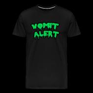 T-Shirts ~ Men's Premium T-Shirt ~ Vomit Alert Shirt