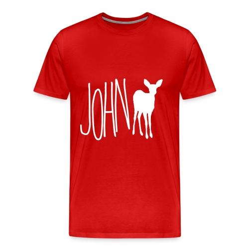 John Doe - Life is Strange (wht ver) - Men's Premium T-Shirt