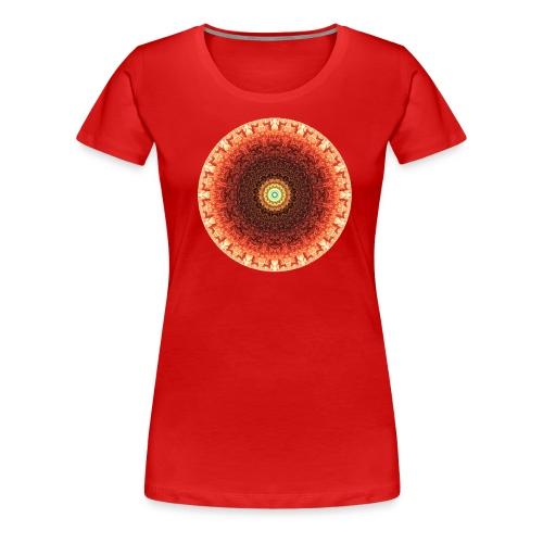 Women's MandalaTee - PASSION - Women's Premium T-Shirt