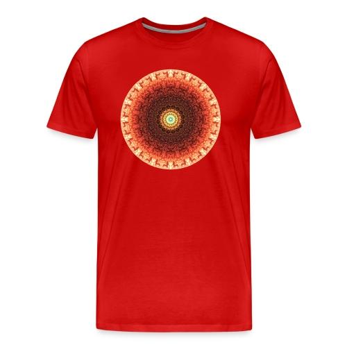 Men's MandalaTee - PASSION - Men's Premium T-Shirt