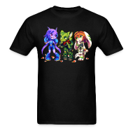 T-Shirts ~ Men's T-Shirt ~ Freedom Planet by Kiwiggle (Men's)