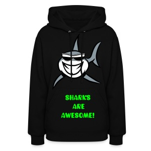 UCRAZ Sharks are awesome hoodie - Women's Hoodie