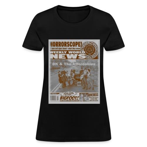 Women's Horrorscope - Women's T-Shirt