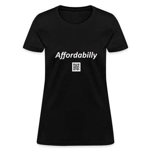 Women's Affordabilly - Women's T-Shirt
